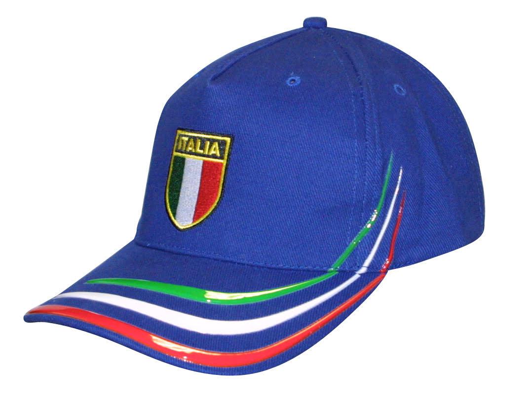 Blue Italia Cap With Little Italy Logo